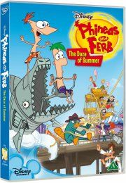 phineas and ferb - the daze of summer - DVD
