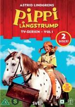 pippi langstrømpe - box 1 - DVD