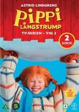 pippi langstrømpe - box 2 - DVD