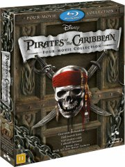 pirates of the caribbean 1-4 collection - Blu-Ray