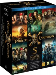 pirates of the caribbean 5-movie collection - Blu-Ray