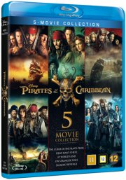 pirates of the caribbean 1-5 - Blu-Ray