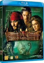 pirates of the caribbean 2 - død mands kiste / pirates of the caribbean - dead mans chest - Blu-Ray