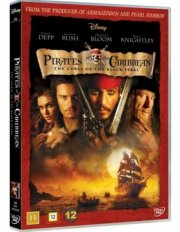 pirates of the caribbean 1 - den sorte forbandelse - DVD
