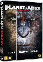 abernes planet / planet of the apes - trilogy - DVD