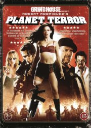 planet terror - grindhouse - DVD