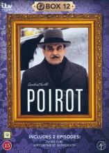 poirot - boks 12 - DVD