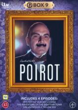poirot - boks 9 - DVD
