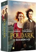 poldark box 1 - sæson 1-3 - DVD