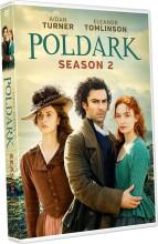 poldark - sæson 2 - DVD