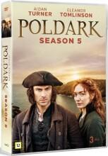 poldark - sæson 5 - DVD
