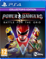 power rangers: battle for the grid (collector's edition) - PS4