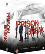 prison break - sæson 1-4 + event series - DVD