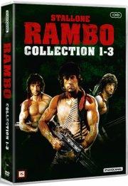 rambo 1: first blood // rambo 2: first blood part 2 // rambo 3 - DVD