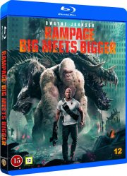 rampage - out of control - 2018 - Blu-Ray