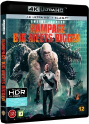 rampage - out of control - 2018 - 4k Ultra HD Blu-Ray