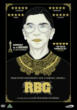rbg - ruth bader ginsburg - 2018 - DVD