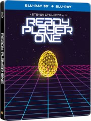 ready player one - steelbook - 2018 - 3D Blu-Ray
