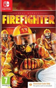 real heroes: firefighter (download code only) - Nintendo Switch