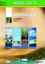 rejsen går til australien - DVD
