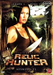relic hunter - sæson 1 - boks 1 - DVD