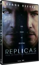 replicas - 2018 - keanu reeves - DVD