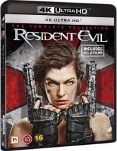 resident evil 1-6 complete 4k uhd - 4k Ultra HD Blu-Ray