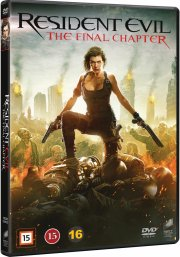 resident evil 6 - the final chapter - DVD
