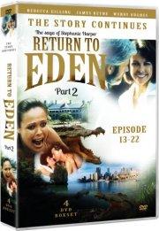 slangen i paradis - fortsættelsen del 2 / return to eden - 1986 - DVD
