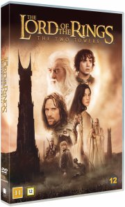 the lord of the rings - the two towers // ringenes herre 2 - de to tårne - DVD