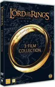 ringenes herre trilogi / lord of the rings trilogy - DVD