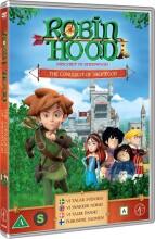 robin hood - sæson 1 vol. 1 - erobringen af sherwood - DVD
