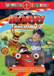 rorri racerbil - masser af lyd - DVD