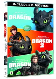 sådan træner du din drage 1-3 / how to train your dragon 1-3 - DVD