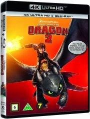 sådan træner du din drage 2 / how to train your dragon 2 - 4k Ultra HD Blu-Ray