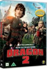 sådan træner du din drage 2 / how to train your dragon 2 - DVD