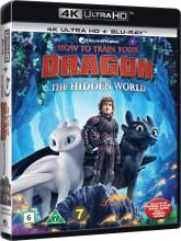 sådan træner du din drage 3 / how to train your dragon 3 - the hidden world - 4k Ultra HD Blu-Ray