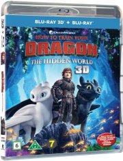 sådan træner du din drage 3 / how to train your dragon 3 - the hidden world - 3D Blu-Ray