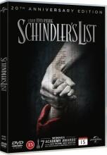 schindlers liste - 20 års jubilæumsudgave - DVD