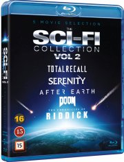 doom // serenity - 2005 // total recall // after earth // the chronicles of riddick - Blu-Ray