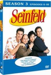 seinfeld - sæson 3: episode 6-10 - DVD