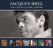 jacques brel - seven classic albums - cd