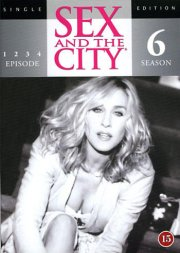 sex and the city - sæson 6 - episode 1-4 - DVD