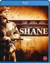 shane den tavse rytter - Blu-Ray
