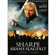 sharpe - ärans slagfält / ærens slagmark - DVD