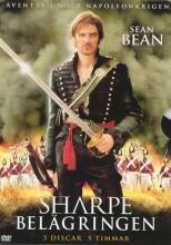 sharpe - belägringen / belejringen - DVD