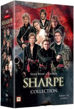 sharpe collection - sæson 1-6 - DVD