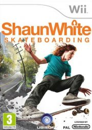 shaun white skateboarding - wii