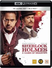 sherlock holmes 2 - skyggespillet / sherlock holmes 2 - a game of shadows - 4k Ultra HD Blu-Ray