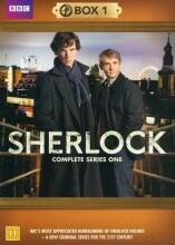 sherlock holmes - sæson 1 - bbc - DVD